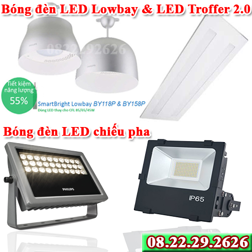 Bóng đèn Philips LED Floodlight